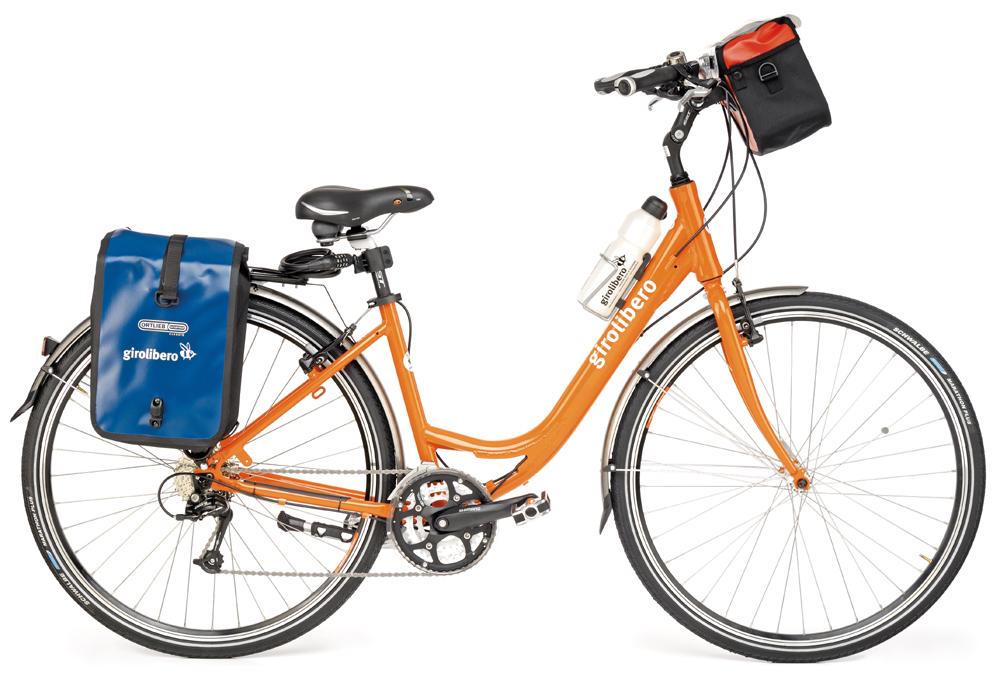 unisexcykel. ni kan även hyra elcykel.