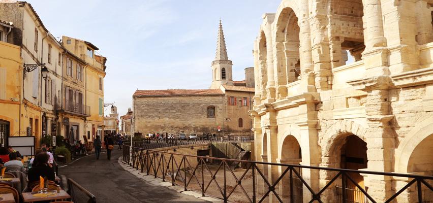 Arles, amfiteatern.