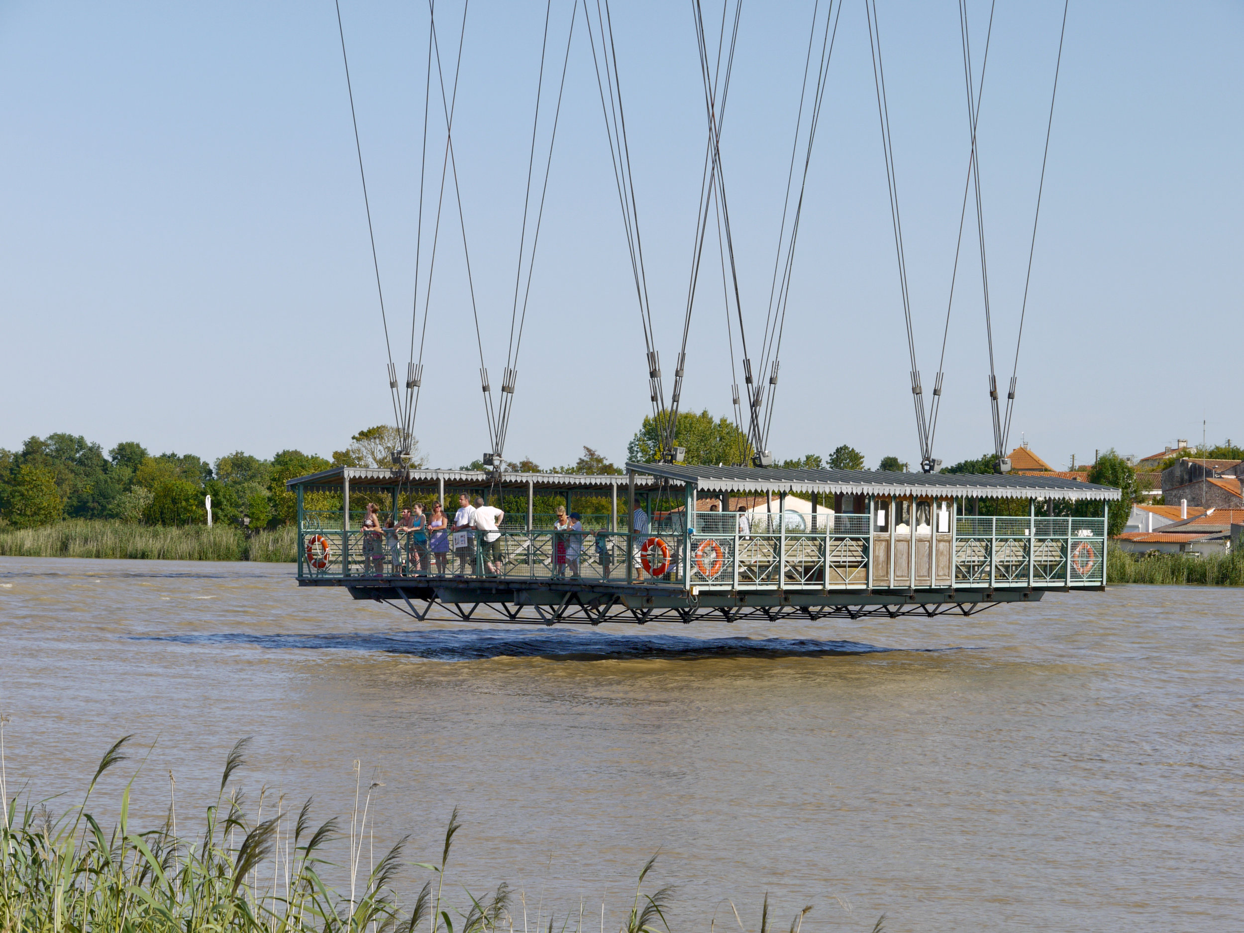 Rochefort Pont transbordeur. foto Xauxa (Håkan Svensson)