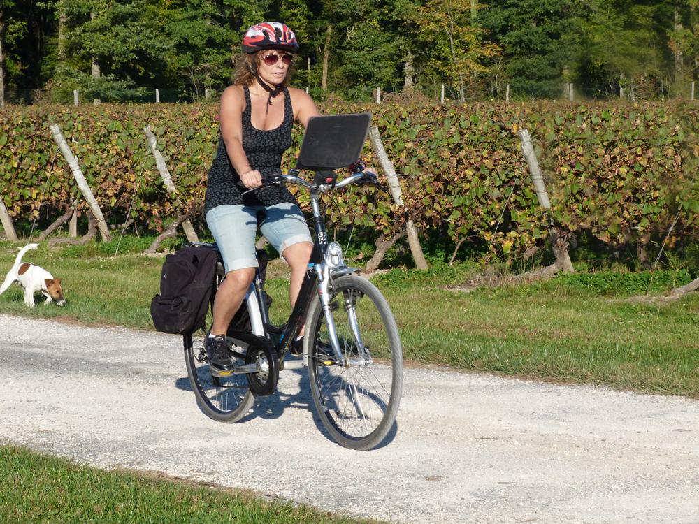 att cykla är att komma nära. foto lvt