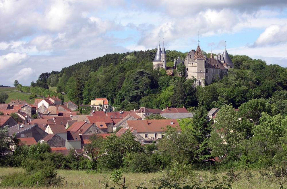 chateau de la Rochepot. foto LVT