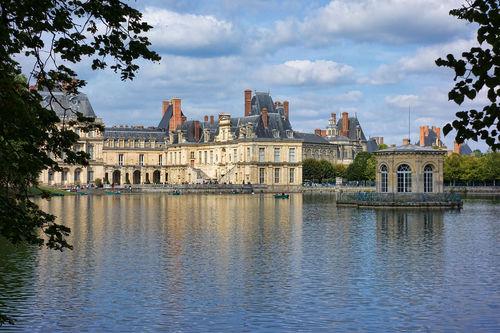 slottet i fontaineblleau. foto Jean-Christophe BENOIST