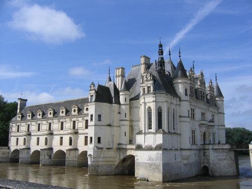chateau de chenonceau. foto lvt