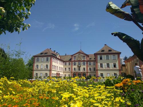 Mainau slottet på blomsterön ©Marlene Hackl donau t.