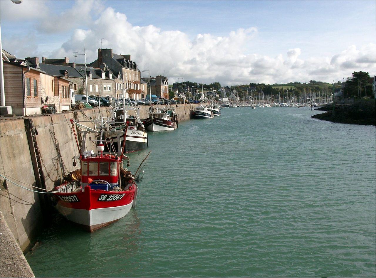 Hamnen i Dahouët. foto Brieg