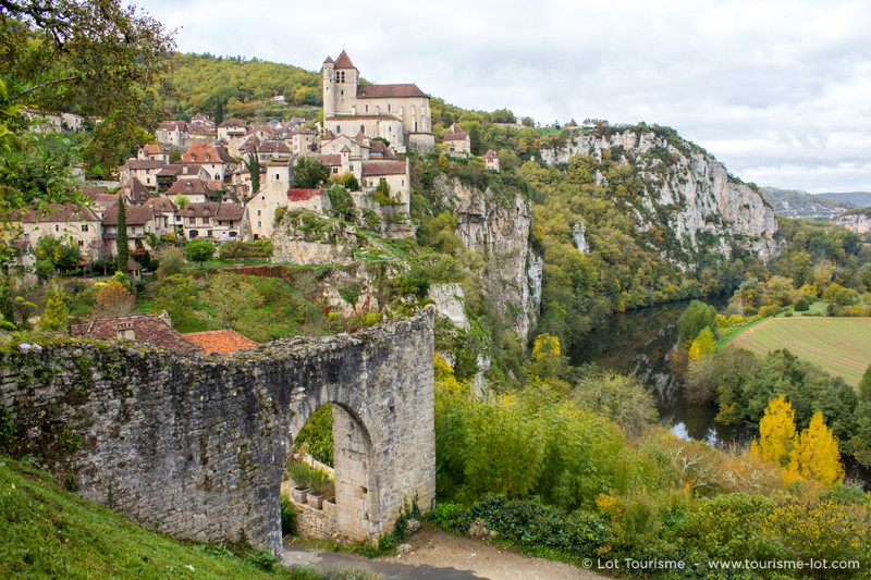 Saint-Cirq-Lapopie © Lot Tourisme - C. Novello