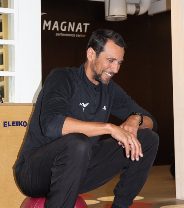 Marcel da Cruz, Performance coach at Magnat Center