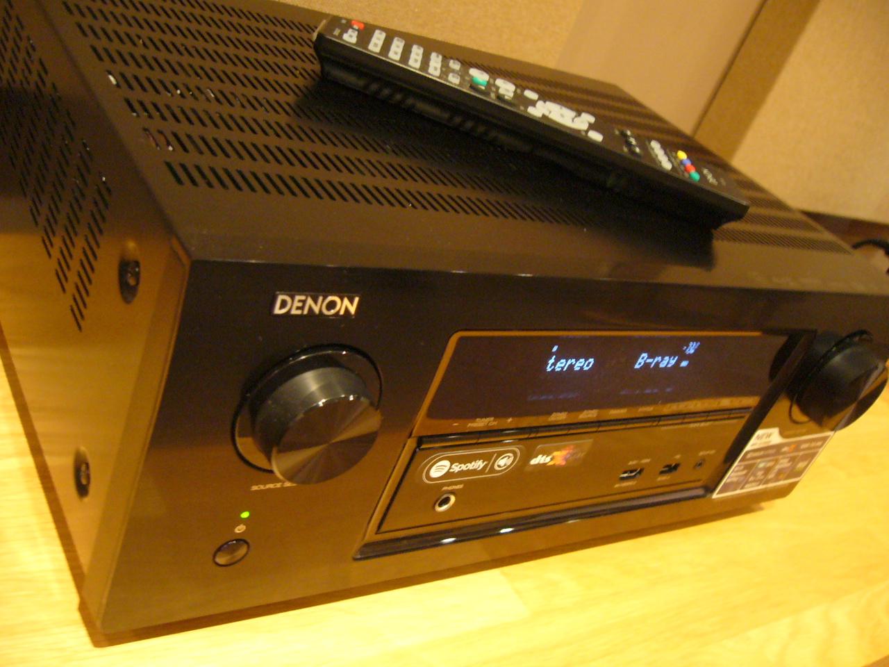 We will start by showing the AWARD WINNING  AVRX2300  AV receiver running a 5.1.2 Dolby Atmos set up.