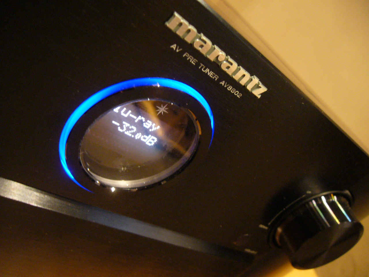 Later we will move up to the flagship Marantz  AV8802  processor &  MM8077  power amp running a 5.1.2 Dolby Atmos setup.