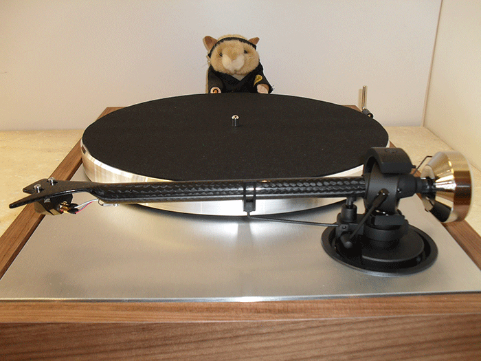 Kung Fu Hamster takes a closer look at the Pro-ject Classic platter
