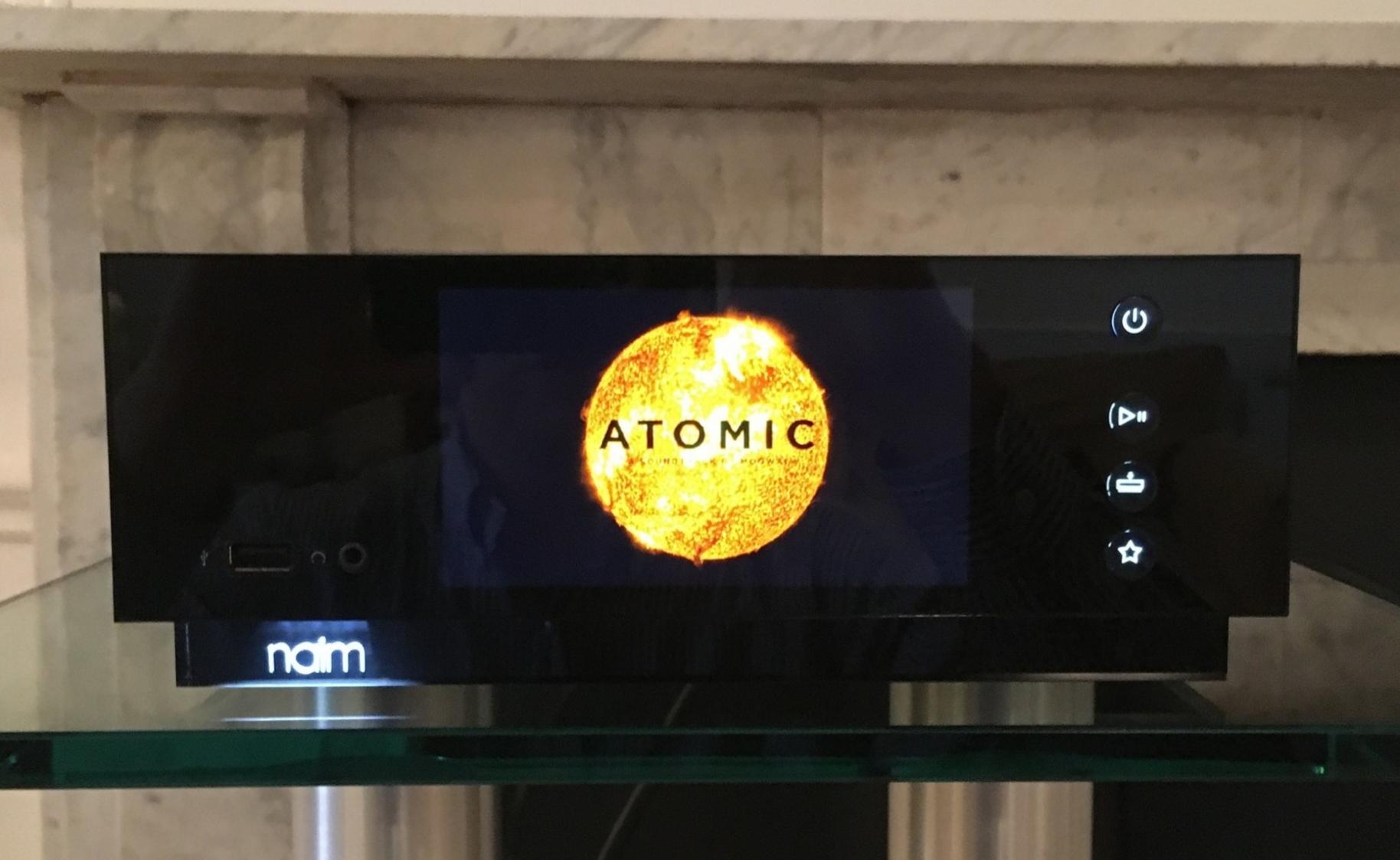 Naim Uniti Atom Front Panel