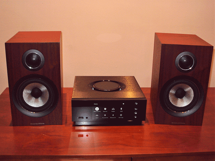 Naim Atom and B&W 707 system