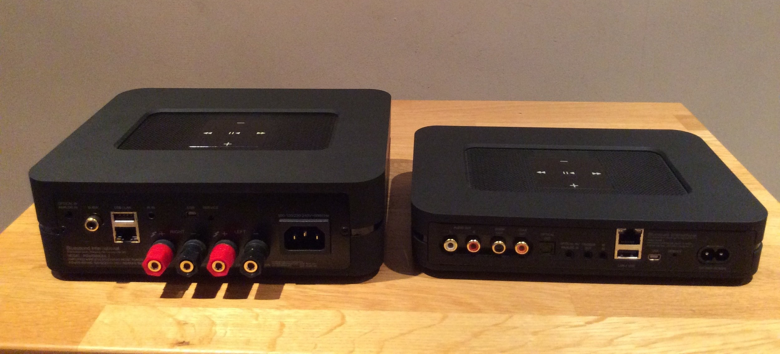 Powernode 2 on the left and Node 2 on the right
