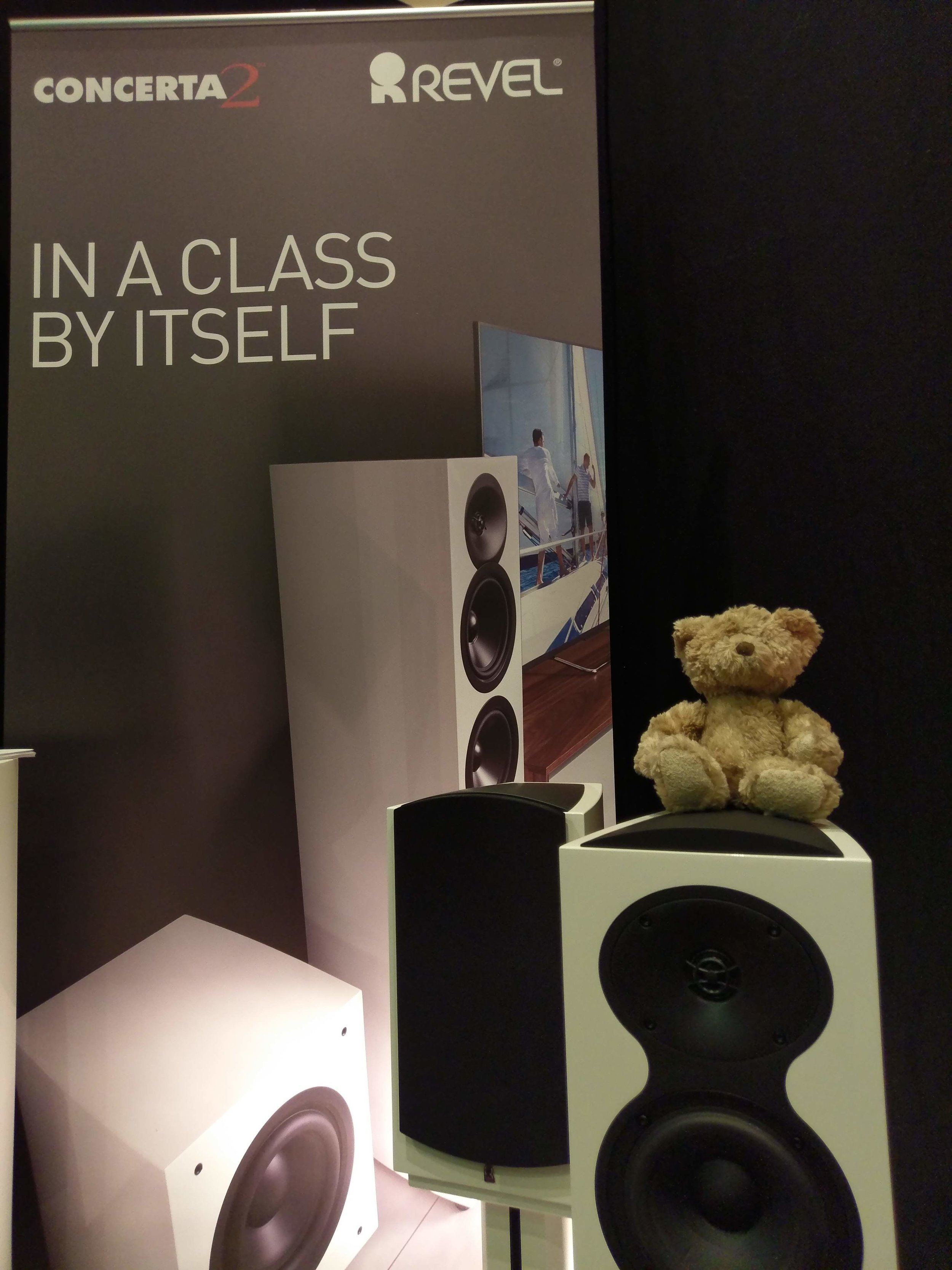 Revel are now being handled in the UK by Arcam alongside Mark Levinson as part of Harman Luxury Audio.