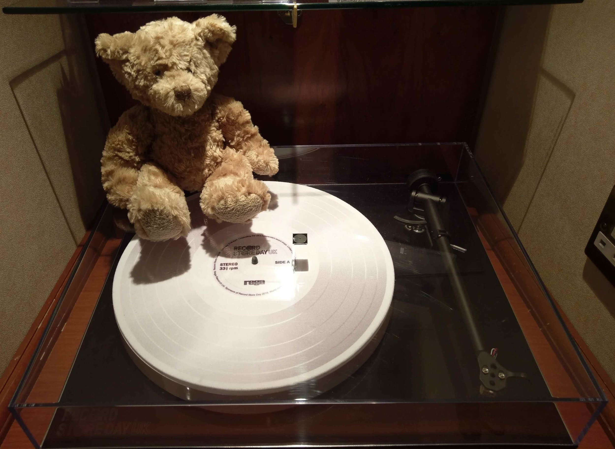 Rega turntables have always been popular with the little bear and this years Record Store Day limited edition promises to be a corker!