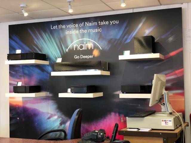 New Naim Uniti / Muso wall