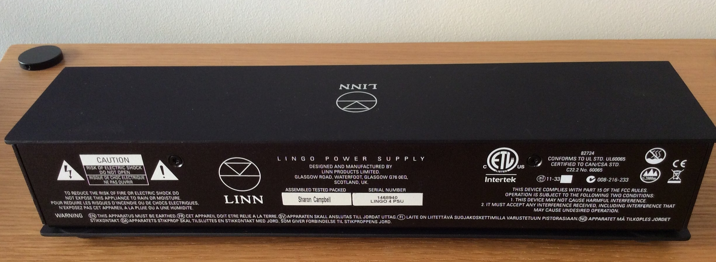 Lingo Power Supply