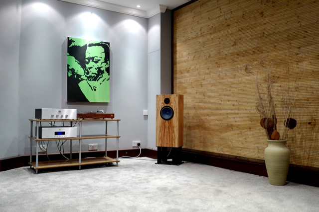 Level 2 system in our new dedicated Audio Note UK room