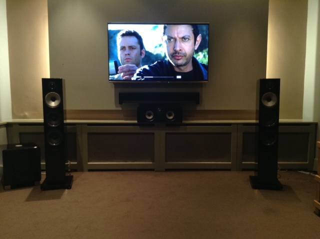 Dolby Atmos demo room 2