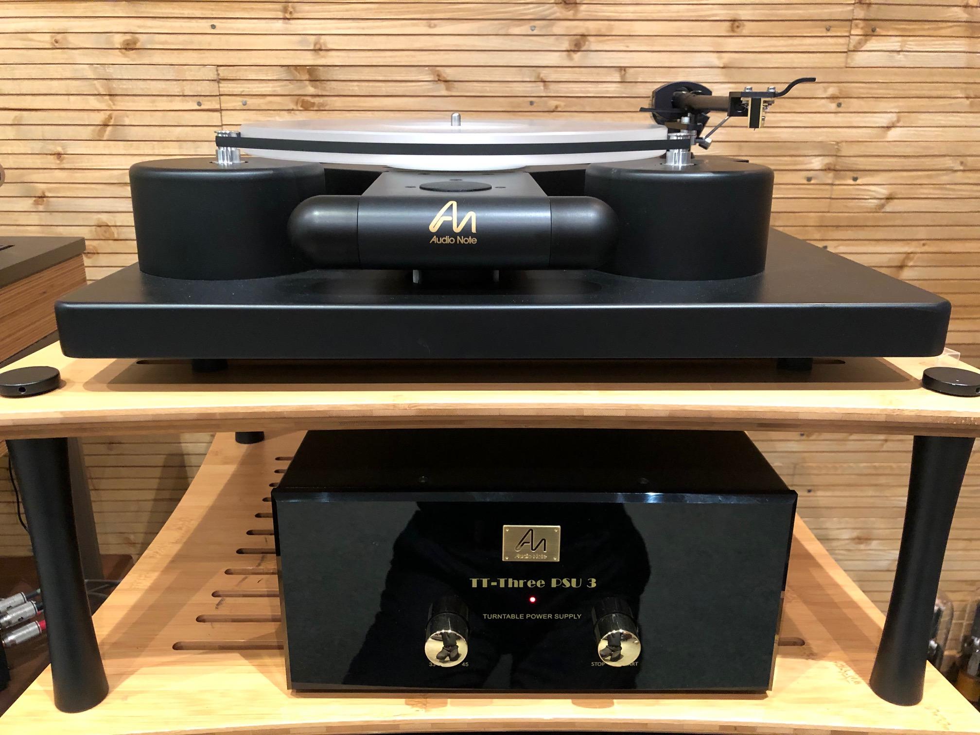 Audio Note TT3, Arm3, PSU3 & iO Gold