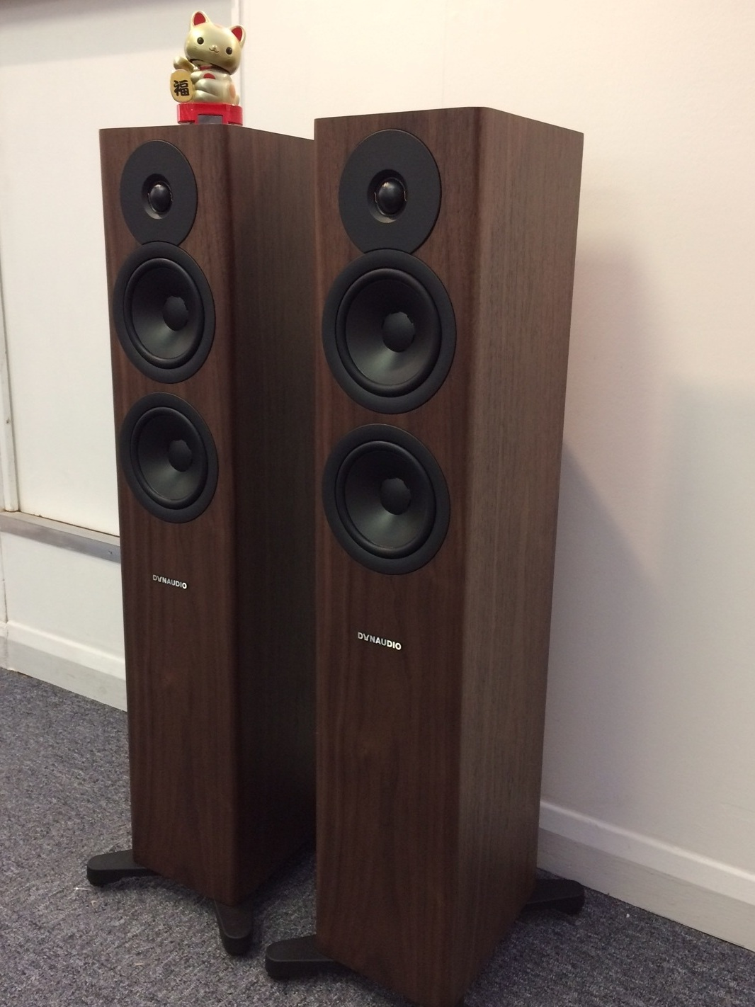 Dynaudio Evoke 30. Walnut Wood