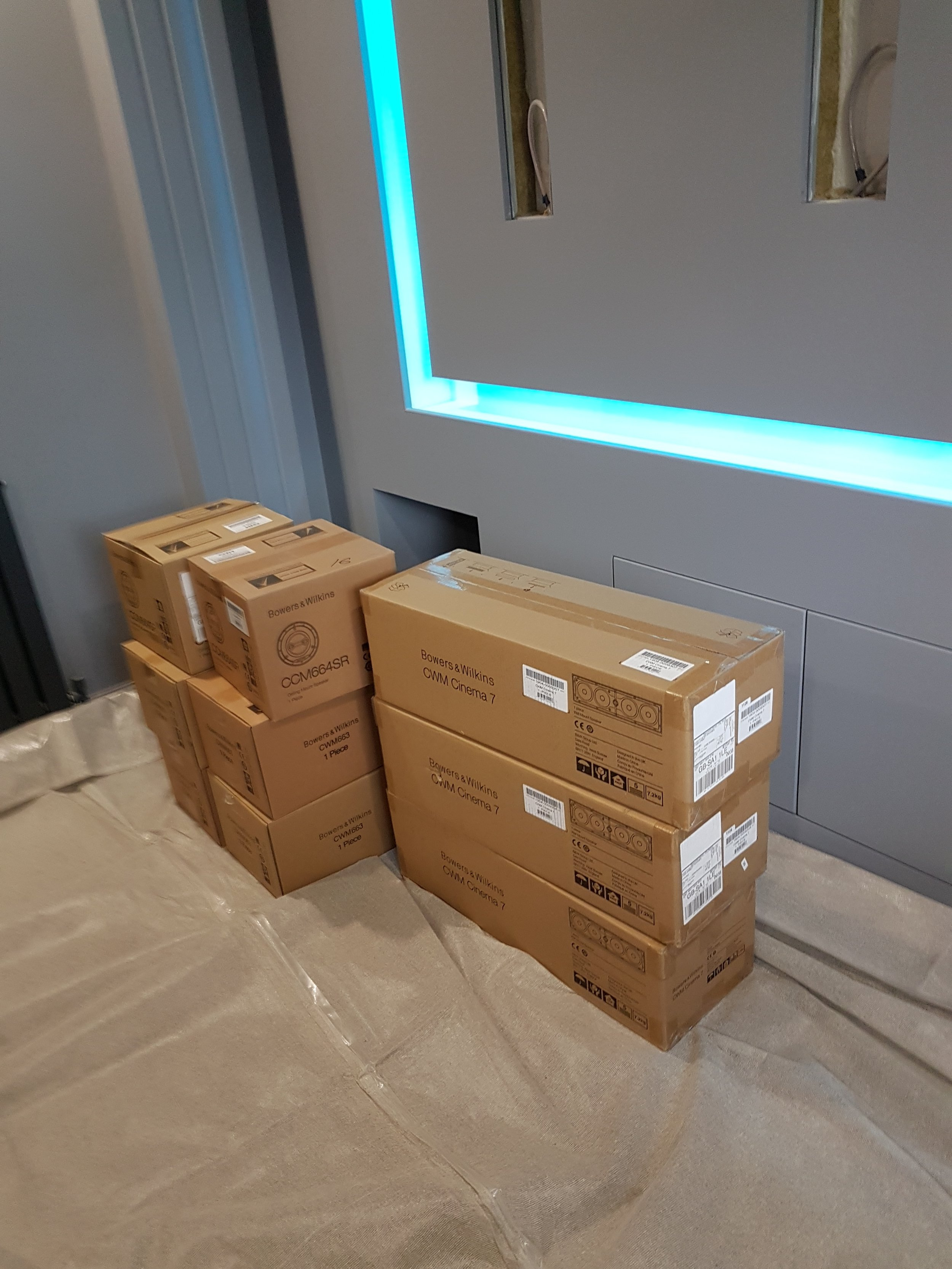 Private Home Cinema Anyone? Audio T Swansea Installs A New
