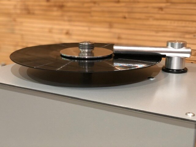 Pro-Ject VC-S2 Alu in action.