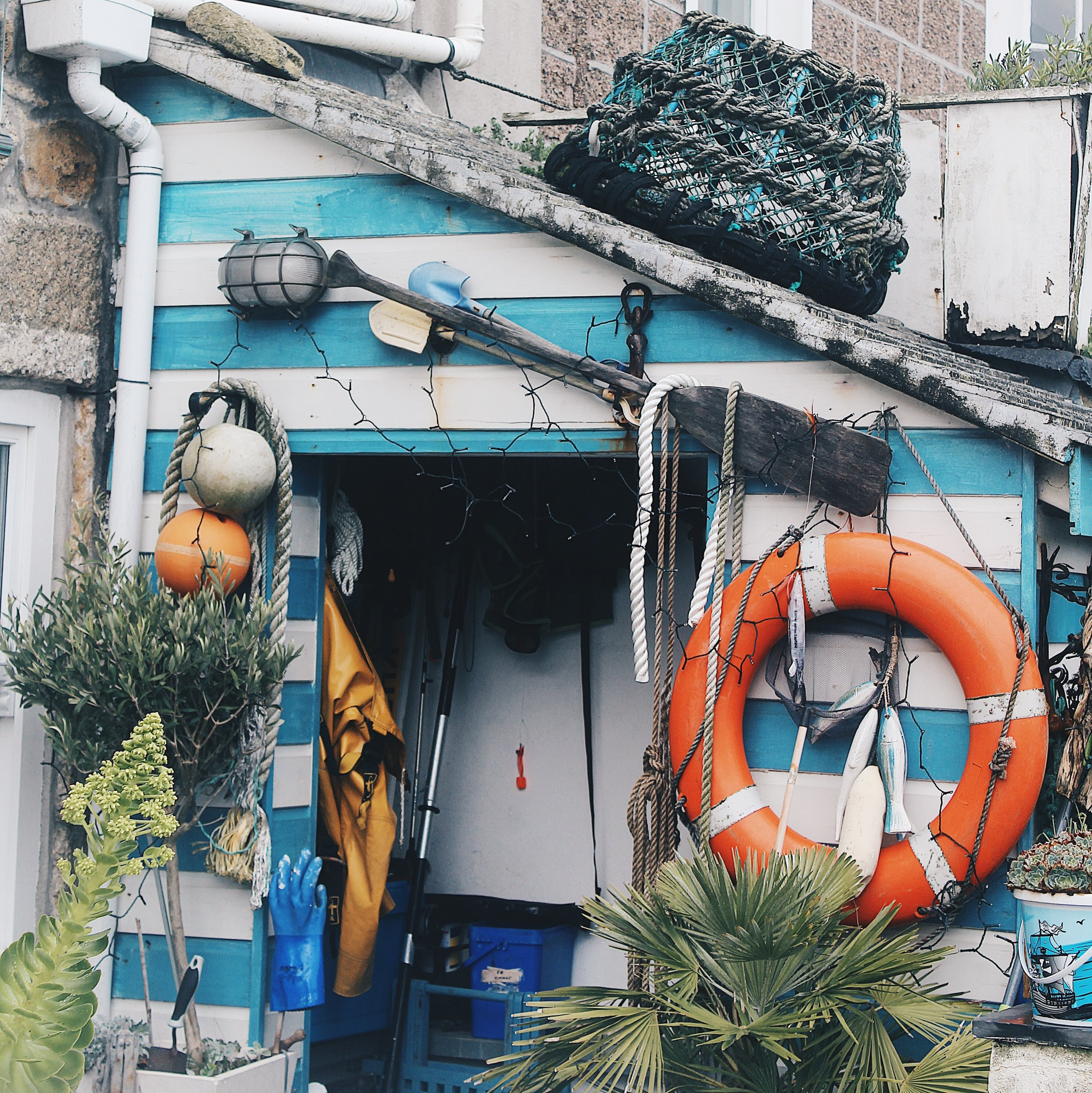 The eclectic houses of St Ives. You will discover something new each time you visit.