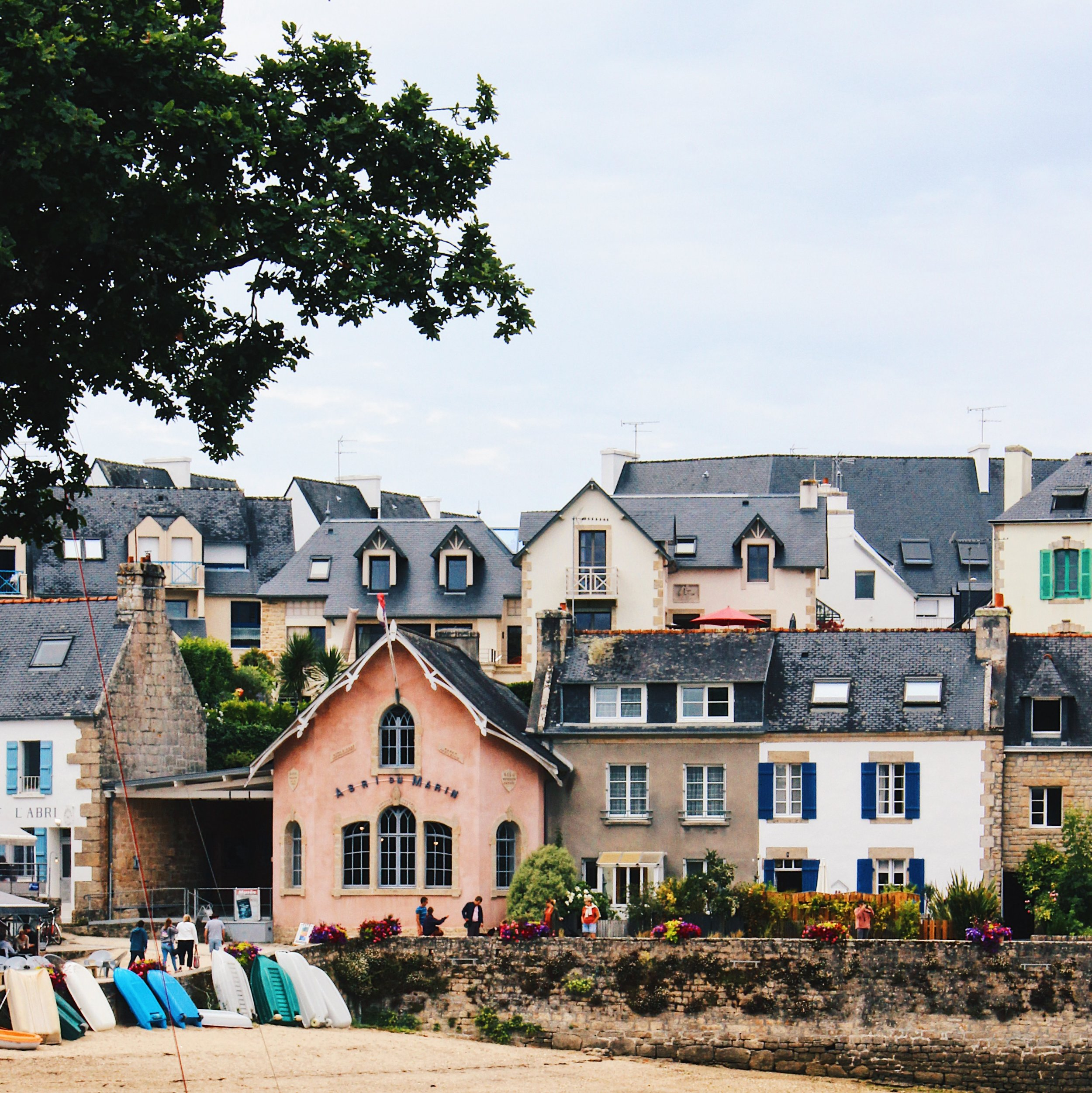 The stunning village of Sainte Marine. My favourite place we visited.
