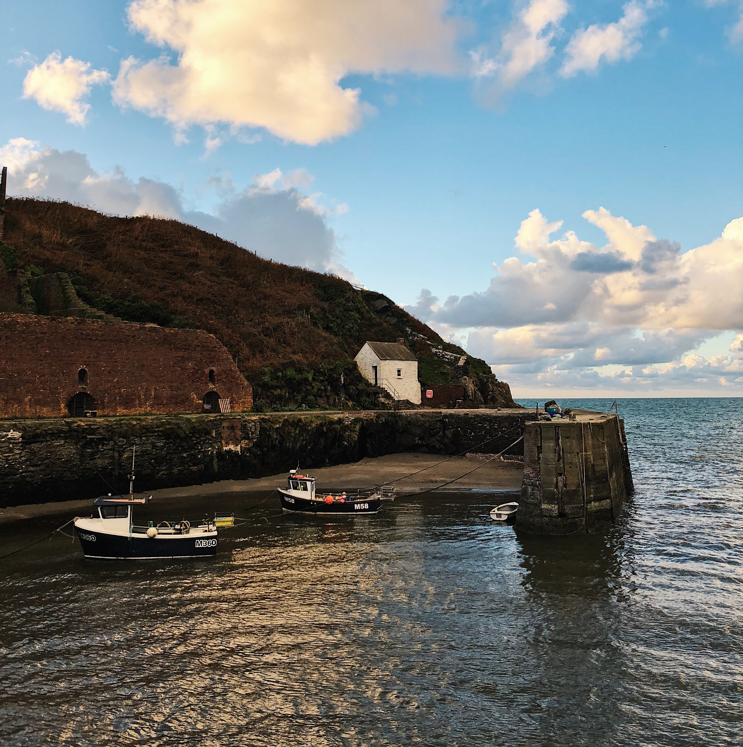 The charming harbour of Porthgain.
