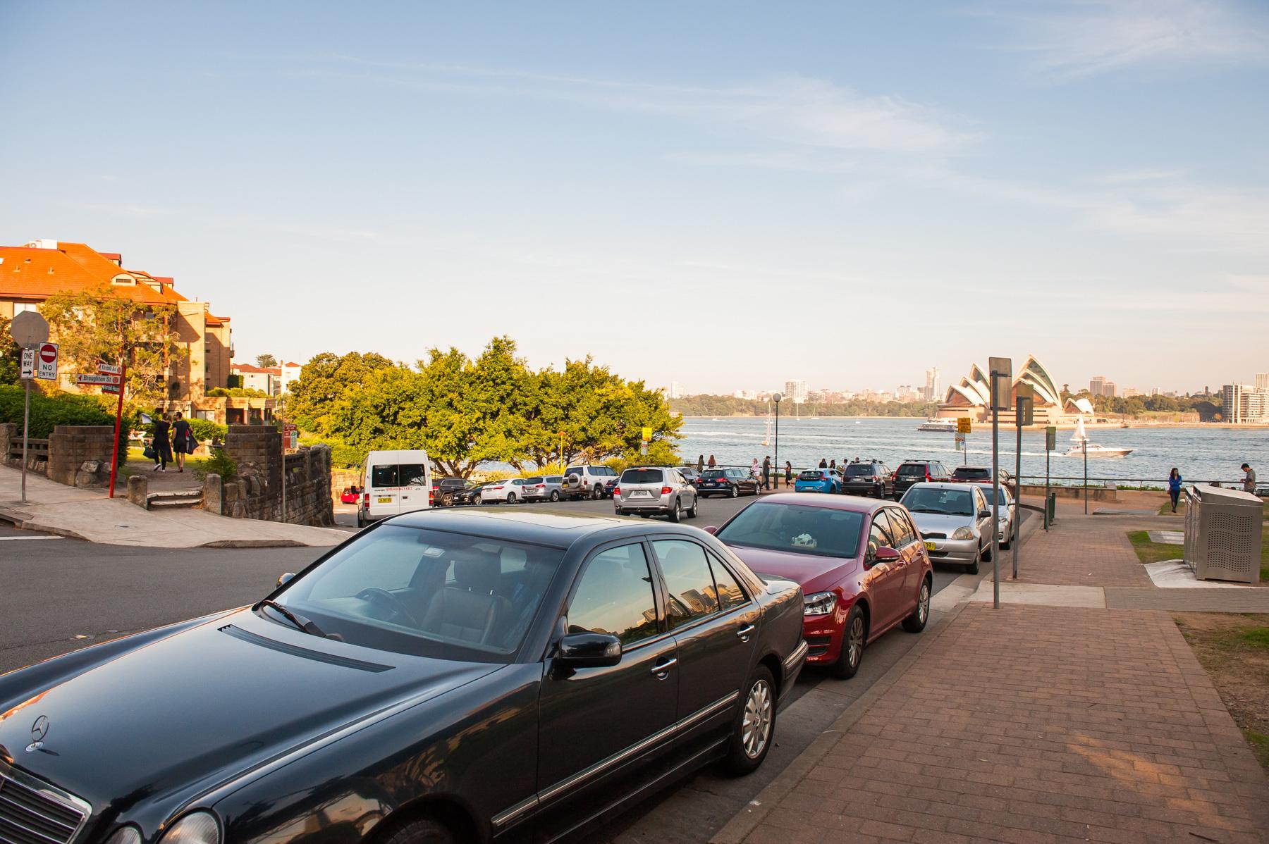 Jeffrey Street Wharf | Kirribilli | Walk down to foreshore