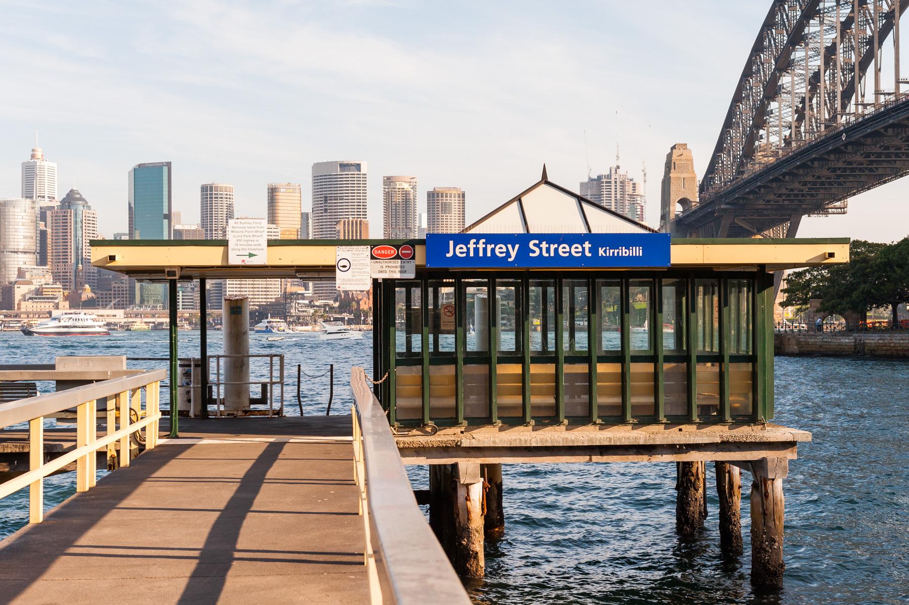 Jeffrey Street Wharf | Kirribilli | Sydney Harbour