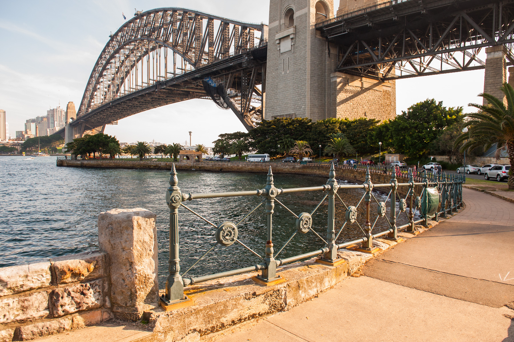 Jeffrey Street Wharf | View to Sydney Harbour Bridge