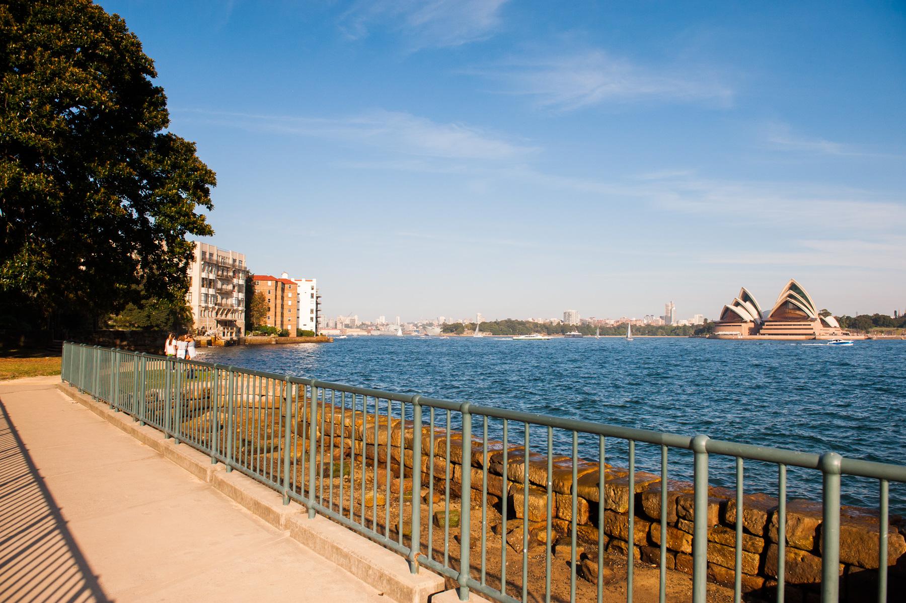Jeffrey Street Wharf | Kirribilli | View to Sydney Opera House