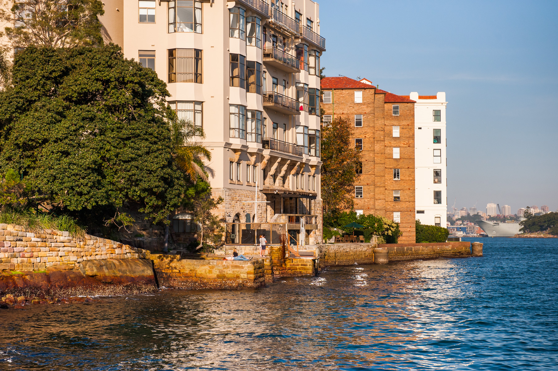 Jeffrey Street Wharf | Kirribilli | View from wharf