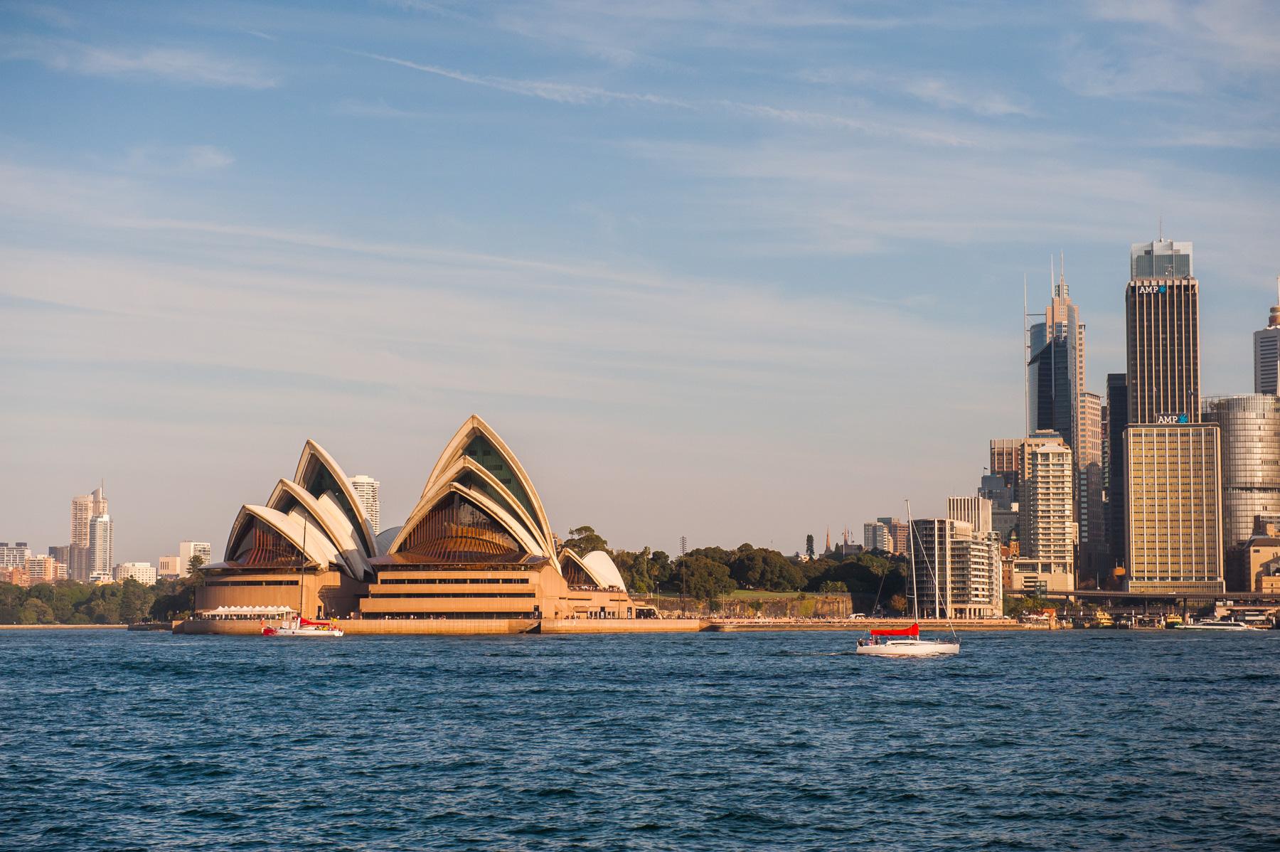 Jeffery Street Wharf | Kirribilli |Sydney Opera House | View from foreshore