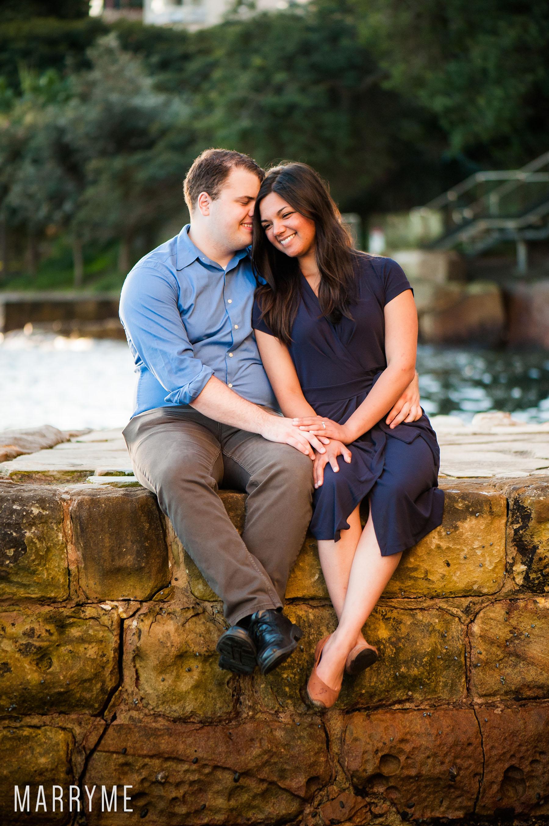 Sydney Real Marriage Proposal Kirribilli Location Sydney 5