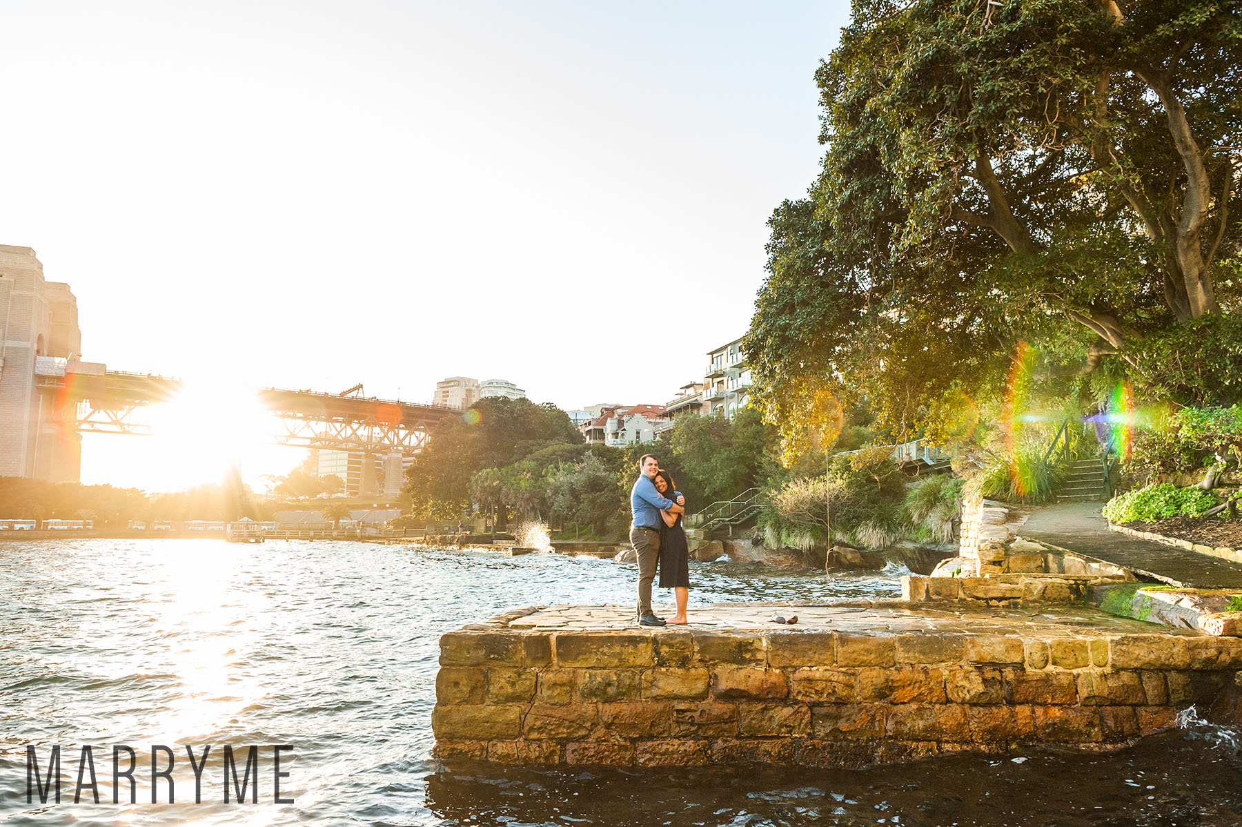 Sydney Real Marriage Proposal Kirribilli Location Sydney 6