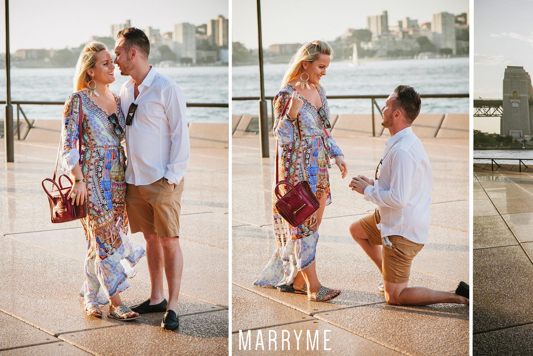 Sydney Harbour Opera House northern boardwalk marriage proposal 3