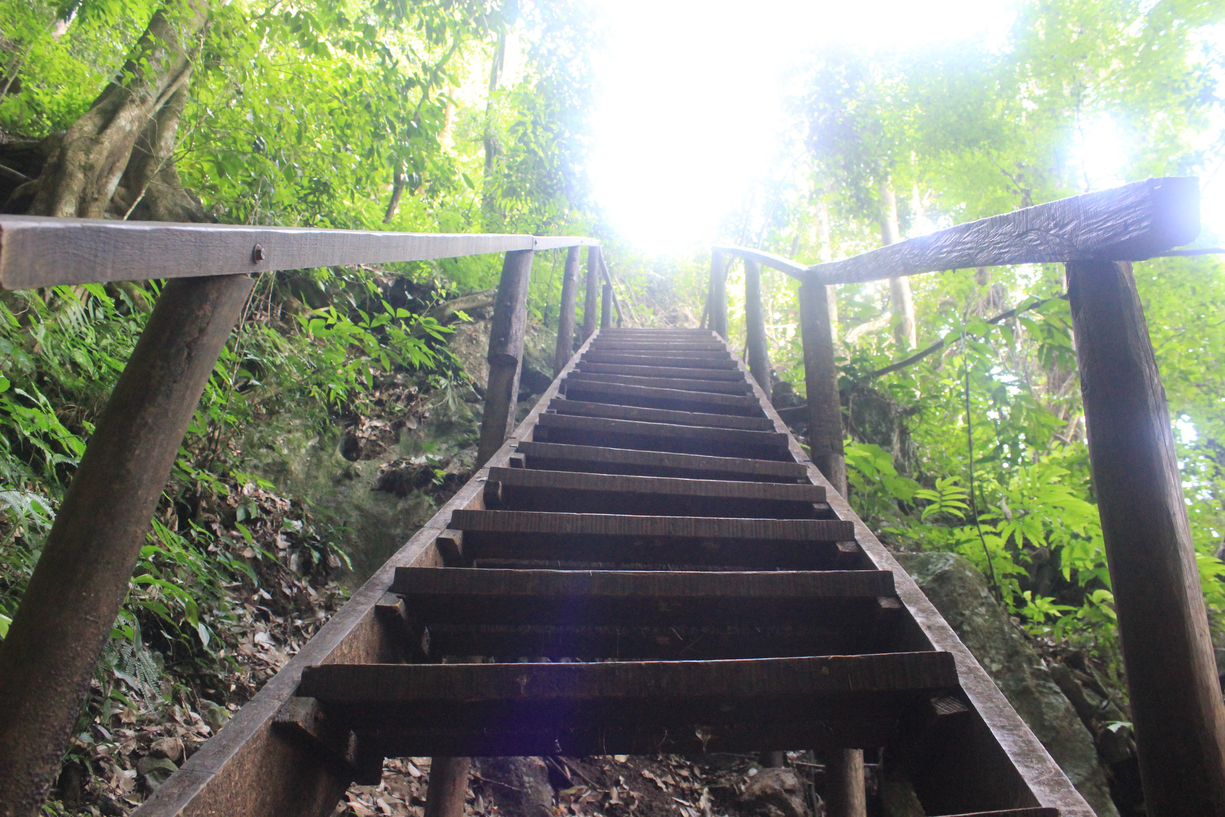 Stairways to heaven... or hell for our legs...