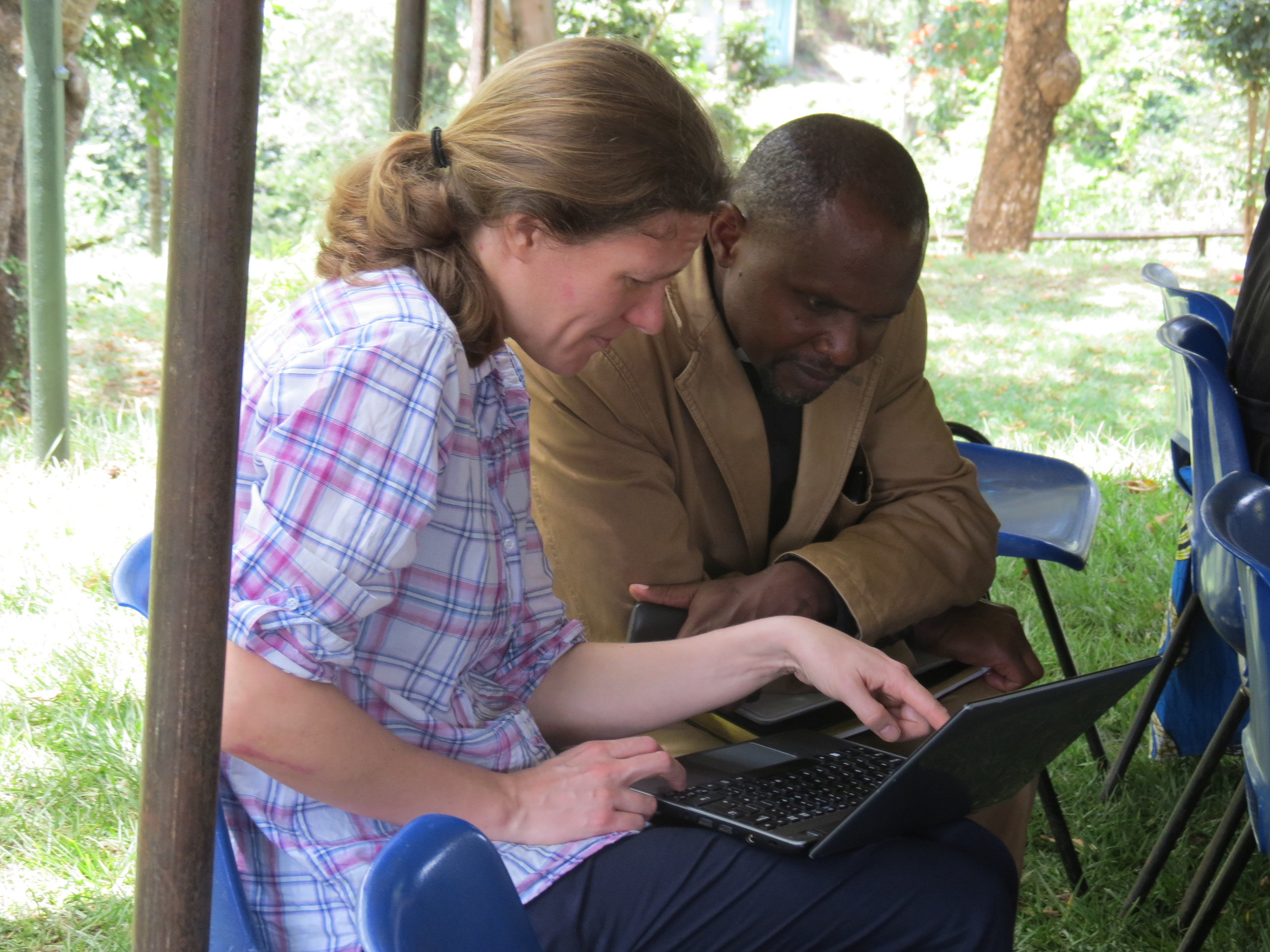 Rachel Lindley & Anthony Ngugi