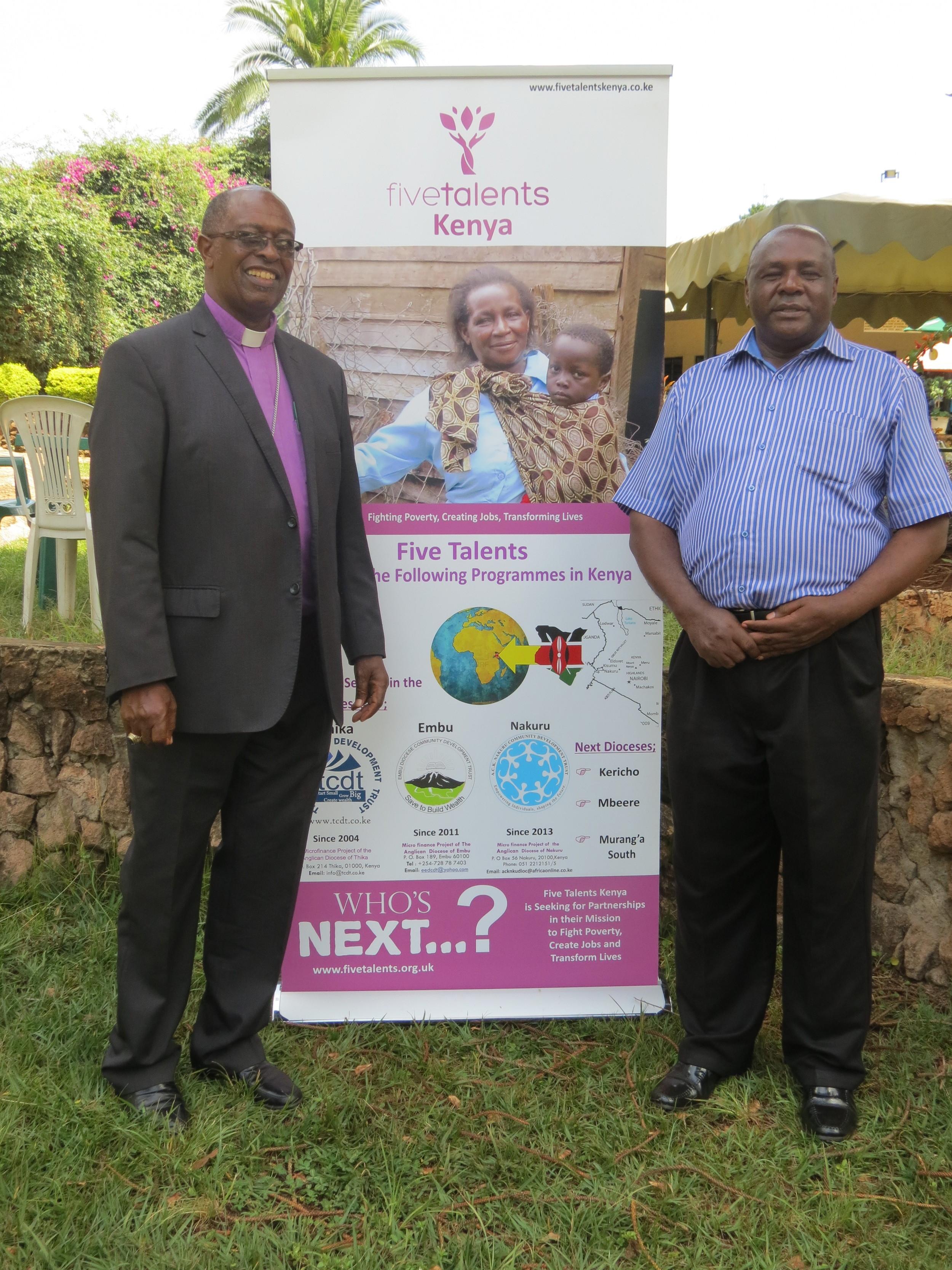 Bishop Gideon & Peterson Karanja