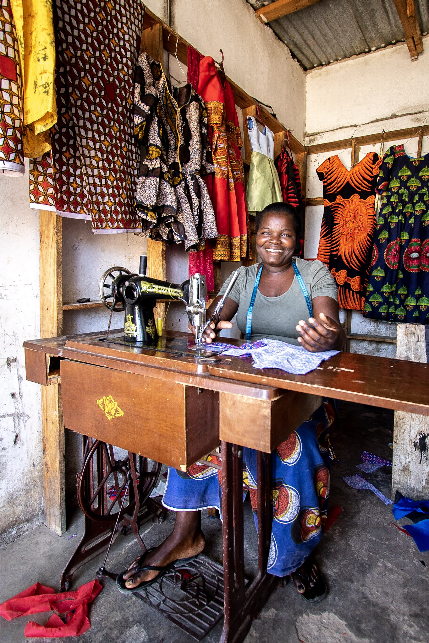 Sewing to Support a Family, Tanzania