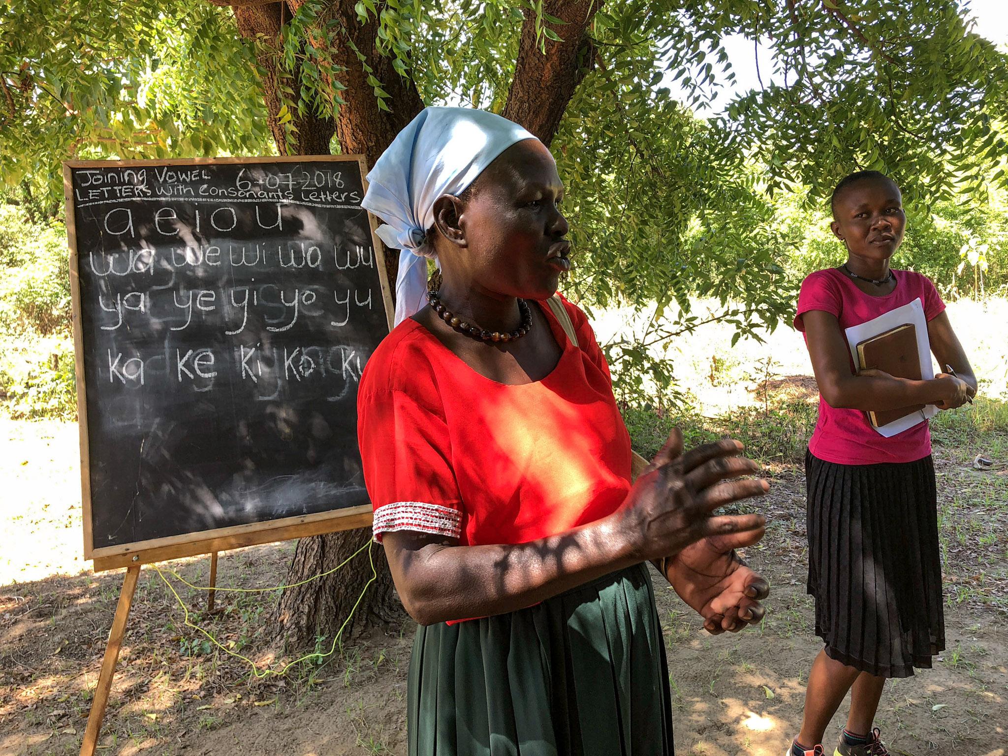 Trainers in Karamoja, Uganda.