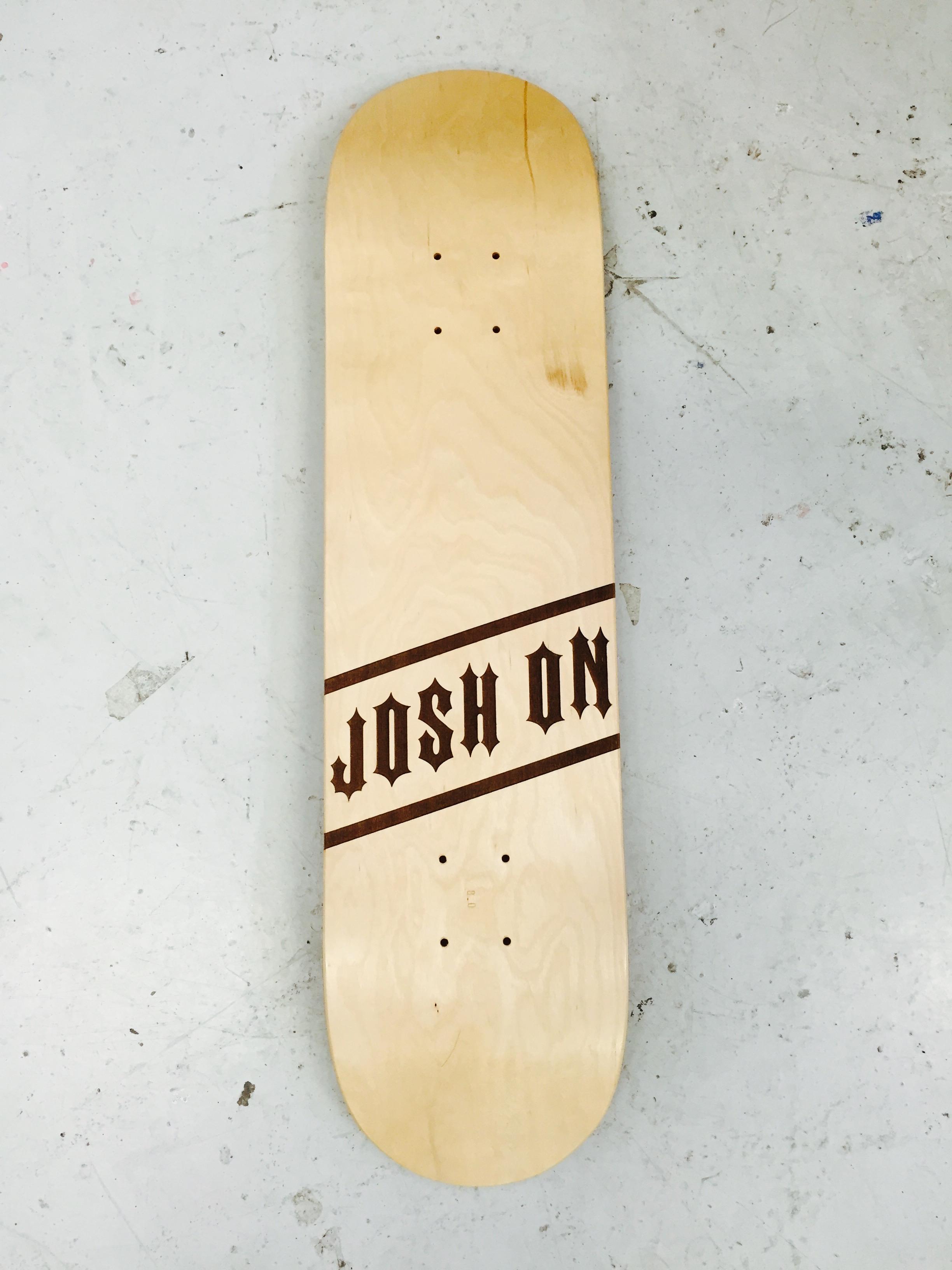 JOSH ON - SKATEBOARDER