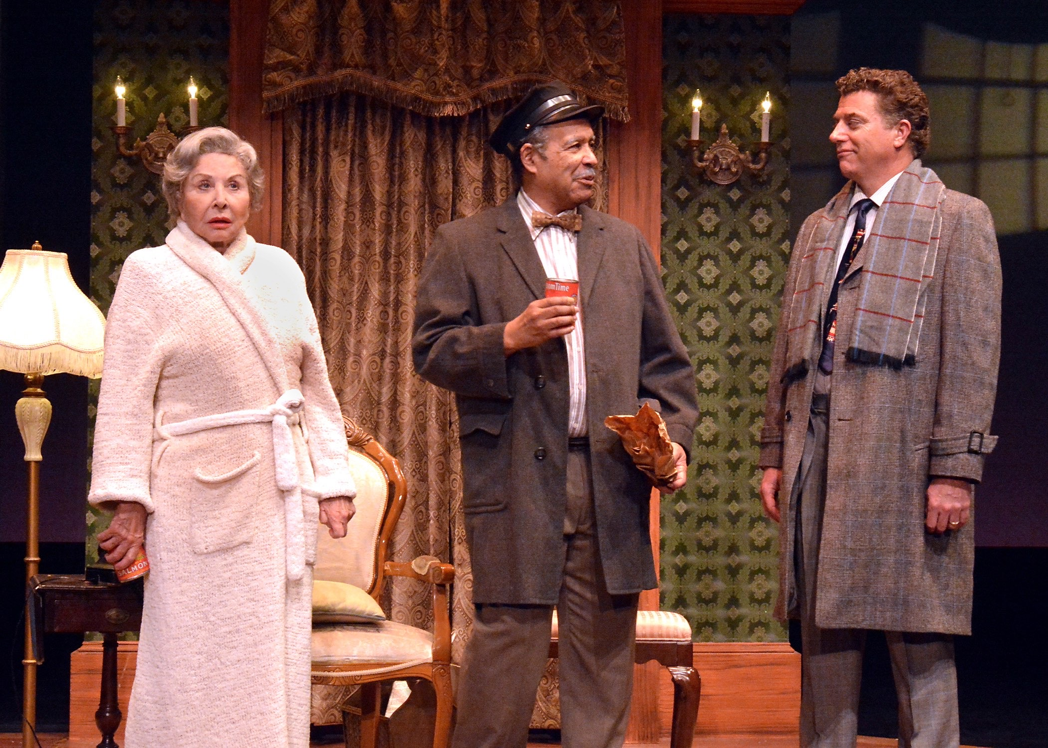 With Michael Learned (Daisy) and Lance Nichols (Hoke) in Driving Miss Daisy.
