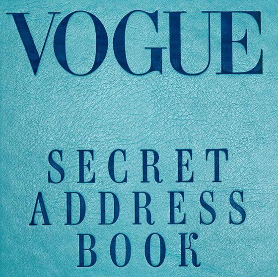 September 2017, Vogue - Secret Address Book