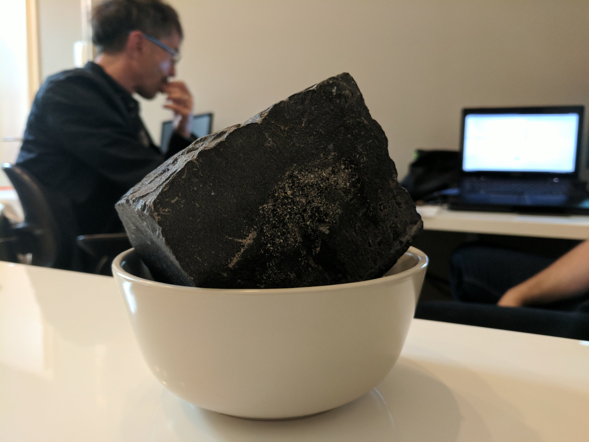 Our favorite stone in the office :)