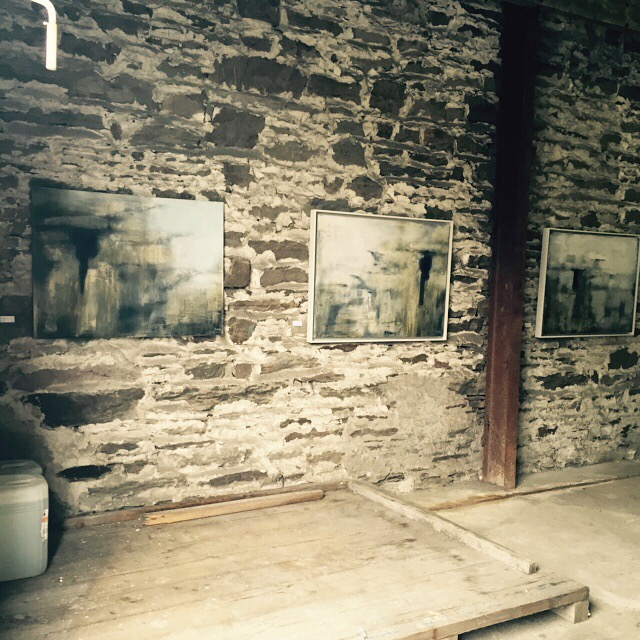 Part of my exhibition for the group Mixed Media show, 'Tales & Traces' in the old Bottling Plant at the Skibbereen Arts Festival 2015.