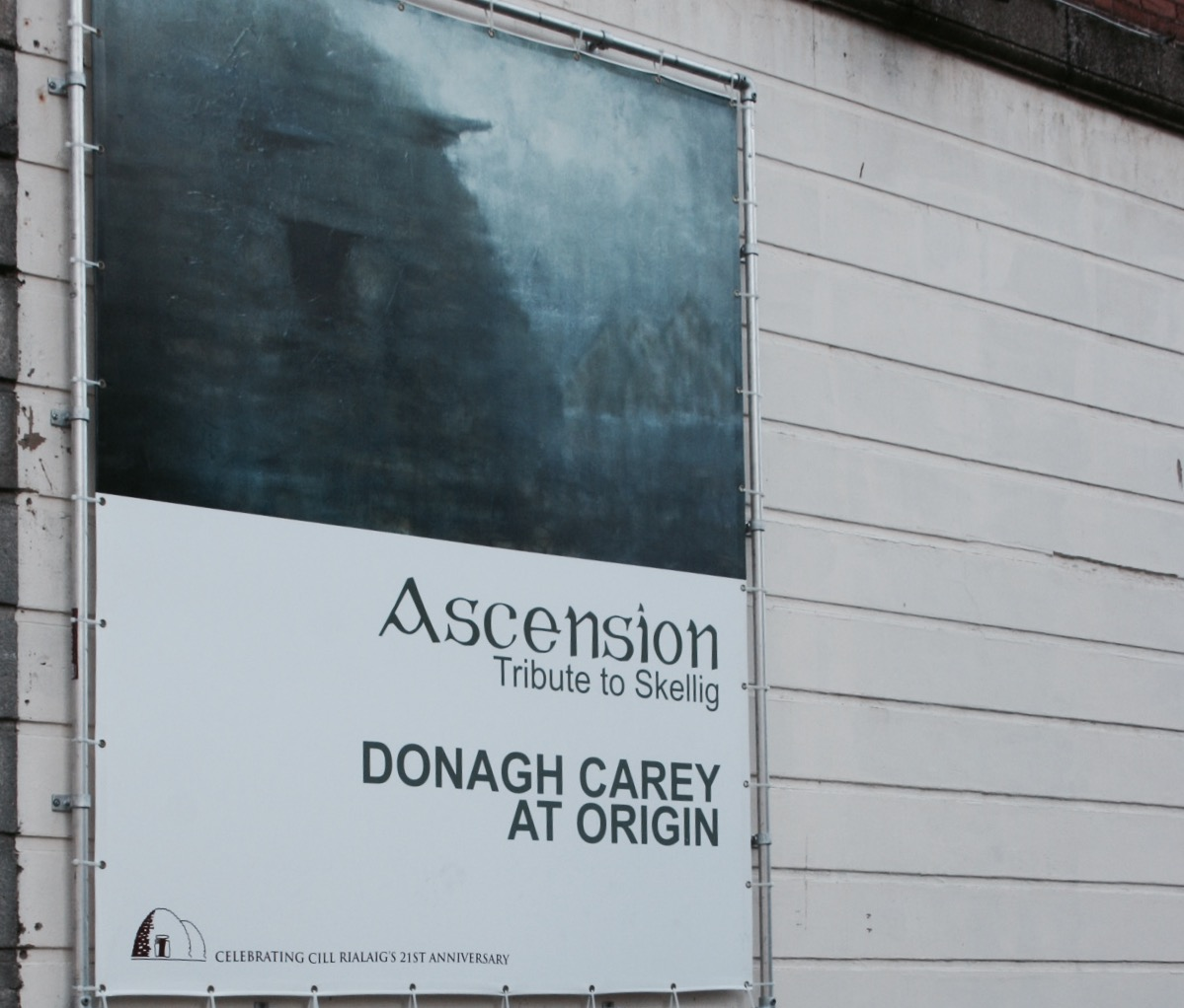 'Ascension - Tribute to Skellig' solo show at Origin Gallery, Hardcourt Street, Dublin in 2012.